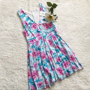NEW Pink Lily Boutique Embrace Floral Dress F25